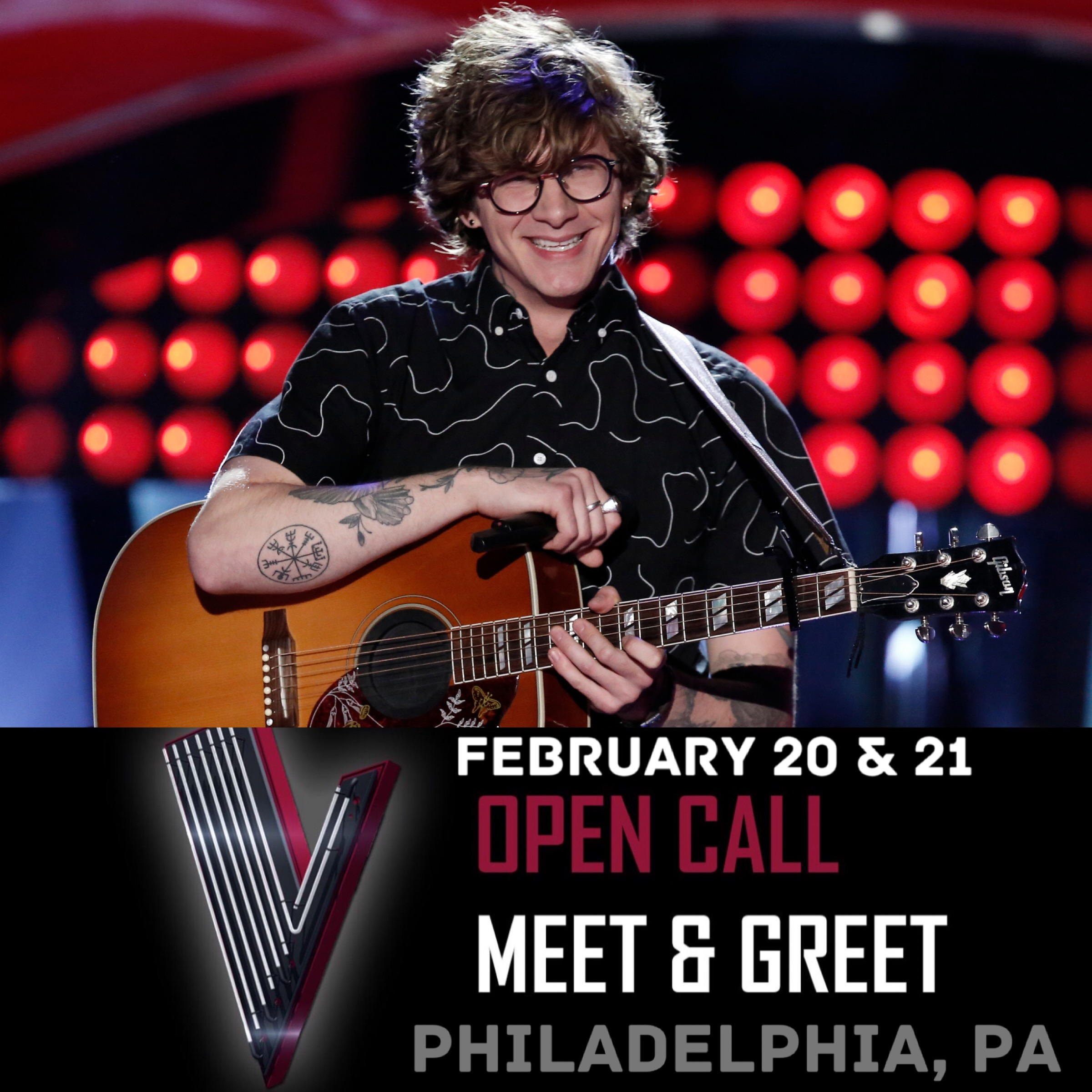 Meet Matt at The Voice Open Call in Philly!